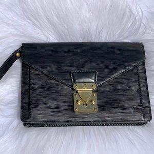 Louis Vuitton Epi Sellier Dragonne clutch